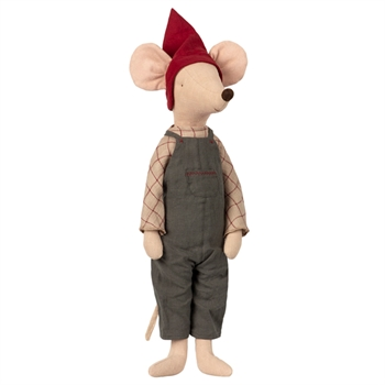 Maileg maxi christmas mouse boy fra 2018