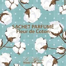 Le Blanc duftpose med cotton flower duft