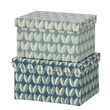 Bungalow brick duo box arabica ocean blue
