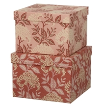 Bungalow cubic duo box old rose