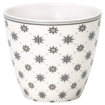 Greengate Laurie white latte cup