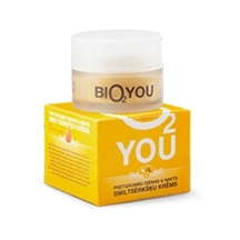 Anti ageing day and night creme fra Bio2you