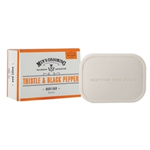 Men´s grooming badesæbe fra Scottish fine soaps
