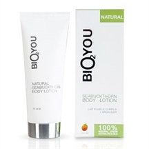 Bio2you plejende bodylotion med seabuckthorn