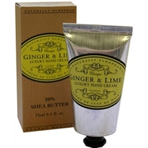 Naturally european ginger og lime håndcreme med sheabutter