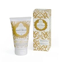 24 hour face and body cream med gold leaf fra Nesti Dante