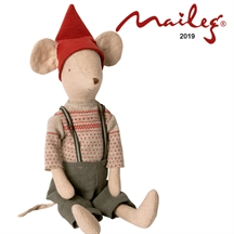 Maileg medium christmas mouse boy 2019