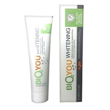 Whitening natural toothpaste fra Bio2you